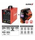 Inversora de Solda TIG / MMA TIGER 165 c/ Máscara de Solda Automática 9-13 Fire - Sumig