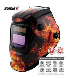 Máscara de Solda Automática Variável de 9 a 13 Sumig Fire