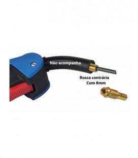 Kit da Tocha MIG-MAG TME105 Bico 1,00mm Completo com 14 Peças