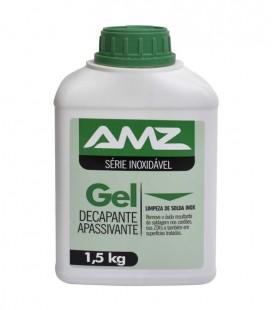 Gel Decapante e Apassivante para Aço Inox AMZ 1,5 kg