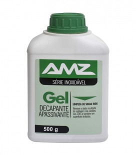 Gel Decapante e Apassivante para Aço Inox Amazônia 500 g