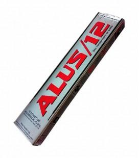"""Eletrodo de Alumínio ALUS 12 (AI+Si 12%) 2,5mm (3/32"""") com 250 Gramas - GD"""