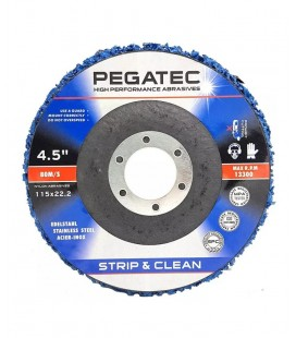 "Disco Flap de Limpeza Pegatec STRIP & CLEAN 115x22,23 (4.1/2""x7/8"")"