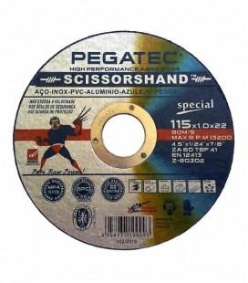 Disco de Corte Pegatec SCISSORSHAND ZA 60 Special 115x1,0x22,23