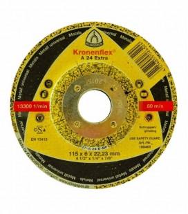 Disco de Desbaste Kronenflex A 24 Extra 115x6x22,23 Klingspor