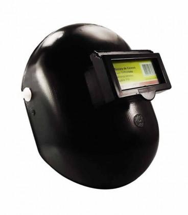 Máscara p/ Soldador de Celeron c/ Visor Articulado 735 Ledan