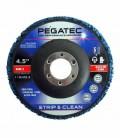 """Disco Flap de Limpeza Pegatec STRIP & CLEAN 115x22,23 (4.1/2""""x7/8"""")"""