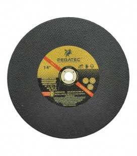 "Disco de Corte Pegatec Golden Extra 350 x 3 x 25,4 (MM) - 14"" X 1/8"" X 1"""