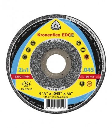 Disco de Corte Kronenflex EDGE Special 115x1,2x22,23 Klingspor