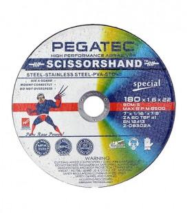 Disco de Corte Pegatec SCISSORSHAND ZA 60 Special 180x1,6x22,23