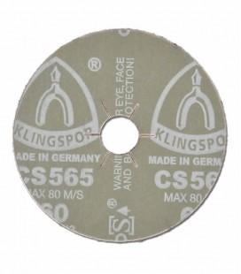 """Disco de Lixa Klingspor CS 565 180X22,23 (7""""x7/8"""")"""