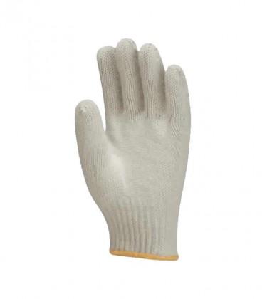 Luva Tricotada em Algodão Branca (4 fios) Proteplus