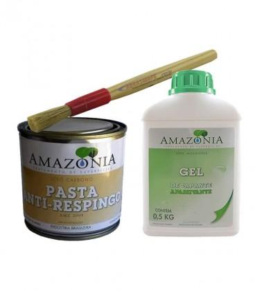 Kit Soldador Gel Decapante Para Inox + Pasta Anti-respingo para Solda AMZ 2009